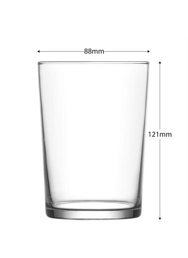 Lav Bodega Su Bardak - Su Meşrubat Bardağı 12 Li Renkli